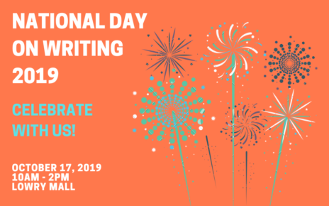 national day on writing header graphic