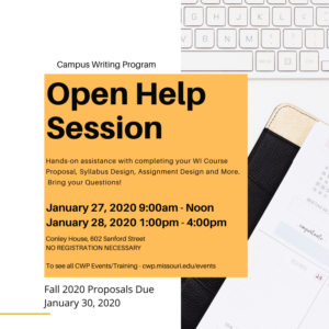 open help session graphic