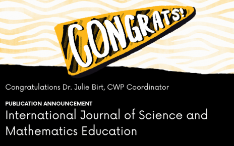 congrats graphic for Julie Birt