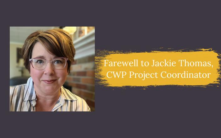 Jackie Thomas farewell graphic